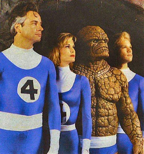 เปิดฉากภาพยนตร์ใหม่  Fantastic Four - แฟนแทสติก โฟร์