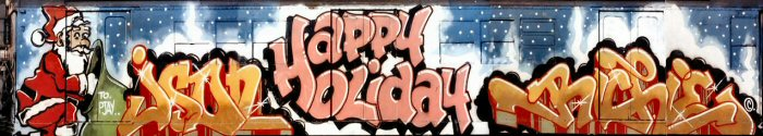 Happy Holidays by JASON, SEEN