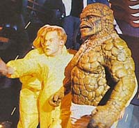 Johnny Storm and The Thing